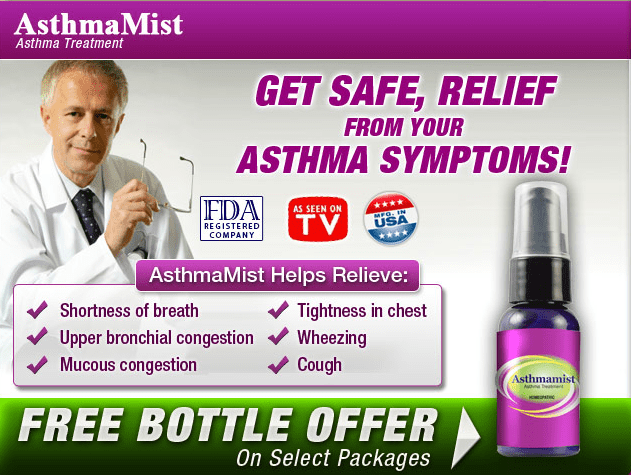 Asthmamist Get Immediate Relieve From Asthma Symptoms