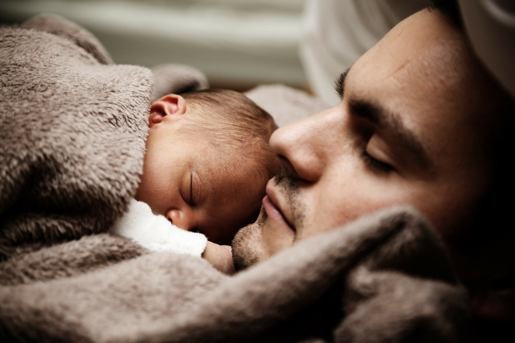 Beauty in becoming a father