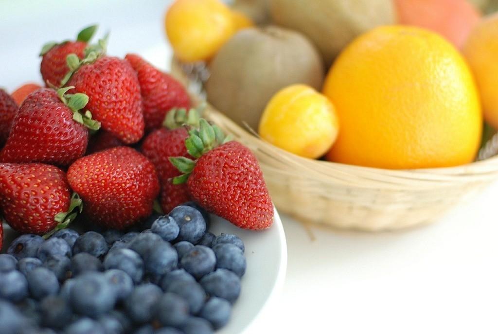 crunchy and citrus fruit