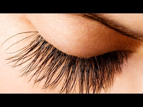 naturally long lashes