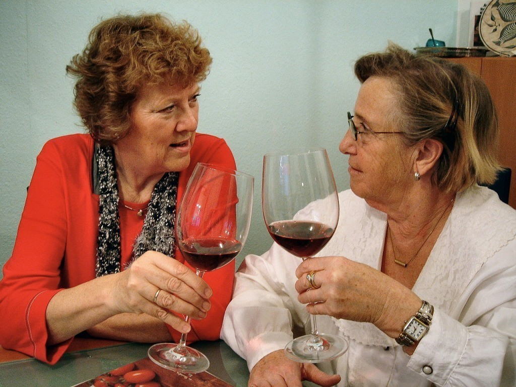 wine helps to prevent ostoporosis in women
